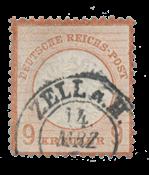 Empire Allemand 1872 - Michel 27a - oblitéré