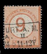 Tyske Rige 1872 - Michel 30 - Stemplet