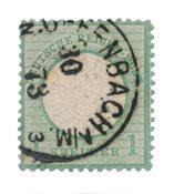 Tyske Rige 1872 - Michel 23b - Stemplet