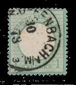 Empire Allemand 1872 - Michel 23b - oblitéré