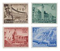 Tyske Rige 1940 - Michel 739-42 - Postfrisk
