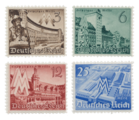 Empire Allemand 1940 - Michel 739-42 - Neuf