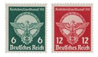 Empire Allemand 1939 - Michel 689-90 - Neuf