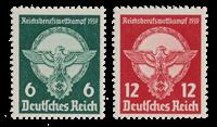 Tyske Rige 1939 - Michel 689-90 - Postfrisk