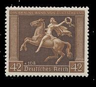 Tyske Rige 1938 - Michel 671 - Postfrisk