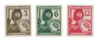Empire Allemand 1937 - Michel 643-45 - Neuf