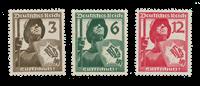 Empire Allemand 1937 - Michel 643-45 - Neuf