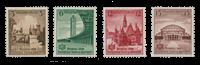 Tyske Rige 1938 -Michel 665-68 - Postfrisk
