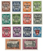 Empire Allemand 1939 - Michel 716-29 - Neuf