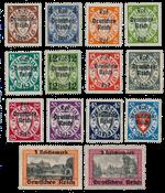 Empire Allemand 1939 - Michel 716-29 - Neuf