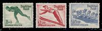 Tyske Rige 1936 - Michel 600-02 - Postfrisk
