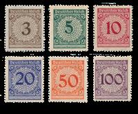 Empire Allemand 1923 - Michel 338-43 - Neuf