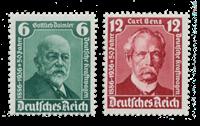 Tyske Rige 1936 - Michel 604-05 - Postfrisk