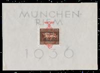 Tyske Rige 1937 - Michel Blok 10 - Ubrugt
