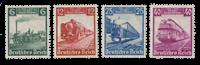 Tyske Rige 1935 - Michel 580-83 - Postfrisk