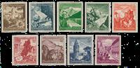 Tyske Rige 1938 - Michel 675-83 - Ubrugt