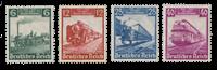 Tyske Rige 1935 - Michel 580-83 - Ubrugt