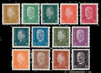 Tyske Rige 1928 - Michel 410-22 - Ubrugt