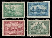 Empire Allemand 1924 - Michel 364-67 - Neuf avec charnière