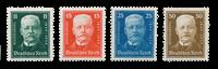 Empire Allemand 1927 - Michel 403-06 - Neuf avec charnière