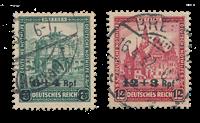 Tyske Rige 1932 - Michel 463-64 - Stemplet