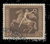 Tyske Rige 1938 - Michel 671 - Stemplet