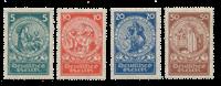 Empire Allemand 1924 - Michel 351-54 - Neuf avec charnière
