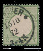 Tyske Rige 1872 - Michel 2a - Stemplet
