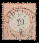 Empire Allemand 1872 - Michel 3 - oblitéré