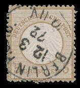 Empire Allemand 1872 - Michel 6 - oblitéré