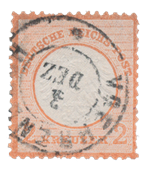 Tyske Rige 1872 - Michel 8 - Stemplet