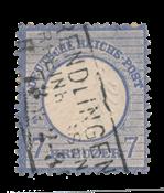 Empire Allemand 1872 - Michel 10 - oblitéré