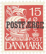 Danmark - AFA 16B - Postfærge
