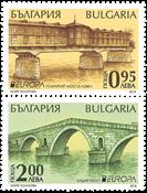 Bulgarie - Europa 2018 / Ponts - Série neuve 2v