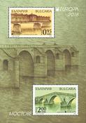 Bulgarien - Europa 2018 / Broer - Postfrisk miniark