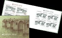 Bulgarien - Europa 2018 / Broer - Postfrisk hæfte