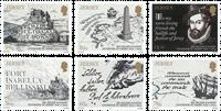 Jersey - Sir Walter Raleigh - Postfrisk sæt 6v