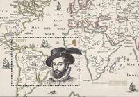 Jersey - Sir Walter Raleigh - Postfrisk miniark