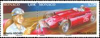 Monaco - Alberto Ascari - Postfrisk sæt 2v