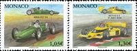 Monaco - Racerløb / BRM P57 V8 - Postfrisk sæt 2v