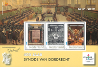 Netherlands - 400th anniversary Synode of Dordrecht - Mint souvenir sheet