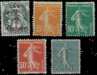 Frankrig - YT 157-61 - Postfrisk