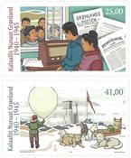 Grønland - 2.Verdenskrig - Postfrisk sæt 2v