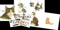 Holland - Katte flot illustreret bog - Med 4 special miniark