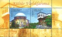 Tyrkiet - Kulturarv - Postfrisk miniark