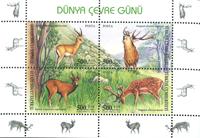 Tyrkiet - Miljøbeskyttelse - Postfrisk miniark