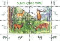 Turquie - Protection de l'environnement - Bloc-feuillet neuf