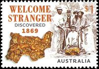 Australie - Prospecteurs - Timbre neuf