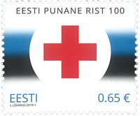 Estonie - Croix-Rouge - Timbre neuf