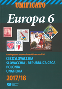Unificato - Frimærkekatalog 2017-18 - Europa 6 - Thekkoslovakiet-Ungarn